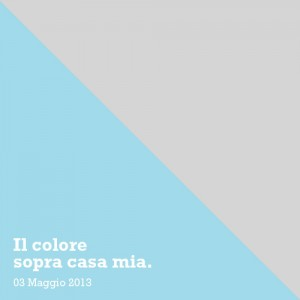 colore sopra casa