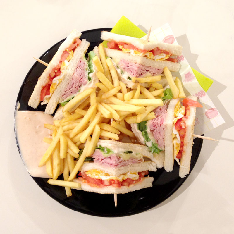 club sandwich villesse