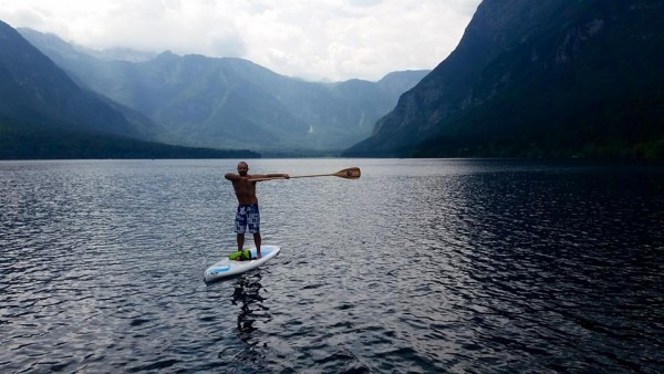 stand up paddle lake slovenia