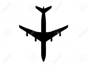 11731231-aereo-airbus-silhouette-cg-contorno-Archivio-Fotografico