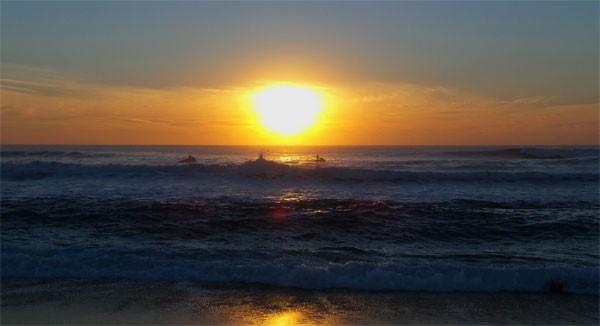 sunset-hossegor
