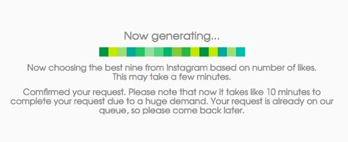 now-generating