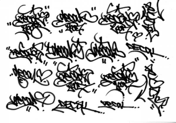 abbastanza Graffiti: lettering e storia | Pensieri & Caffelatte ZT32